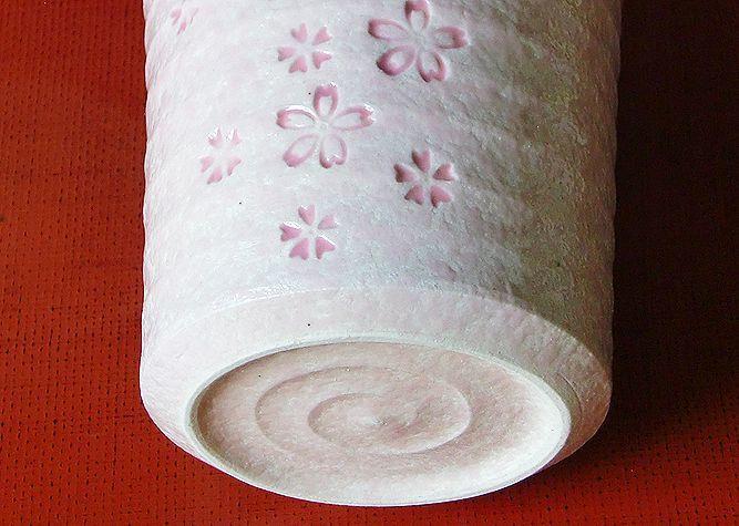 清水焼 マグカップ さくら(ピンク)